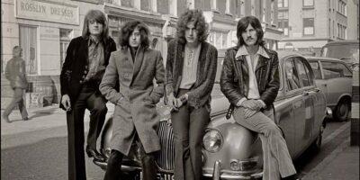 Led Zeppelin photo group