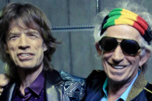 the Rolling Stones Mick Jagger e Keith Richards