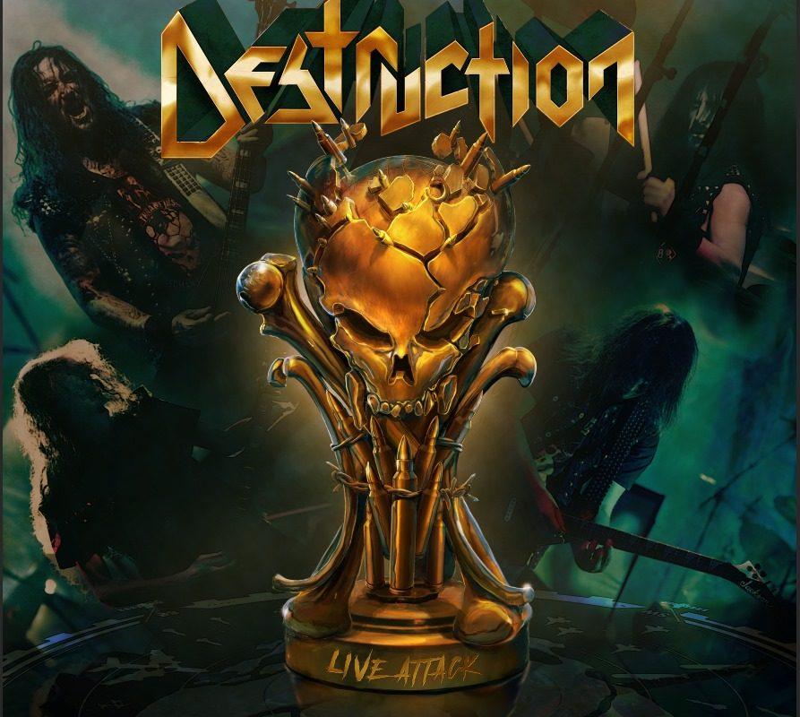 Destruction, Schmier, Live Attack