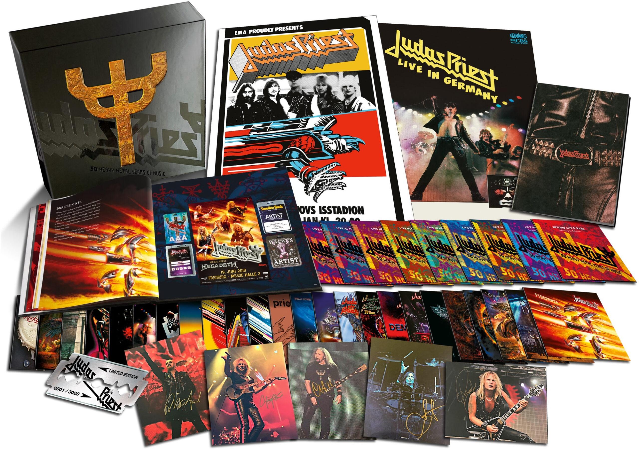 50 heavy metal years of music judas priest boxset